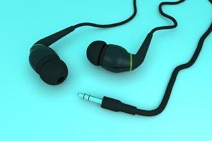 3ds max headphones