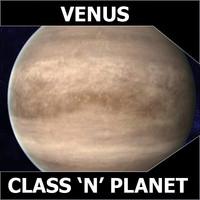 3d model planet venus