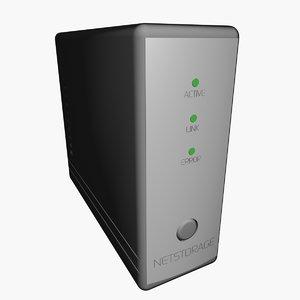 3d network storage nas500 model