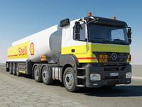 Mercedes-Benz Axor Fuel Tank