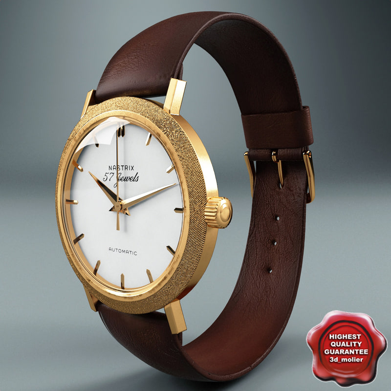3d john kennedy wristwatch nastrix model