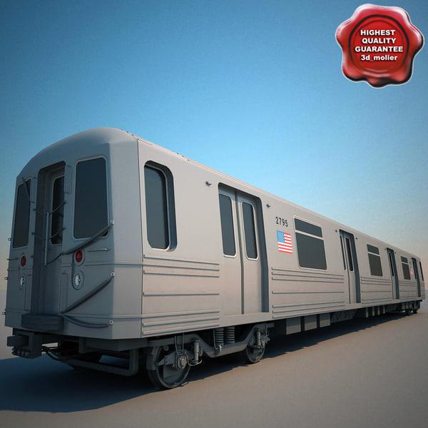 3ds new york subway train