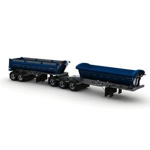 3d trailers b-train midland tw3500