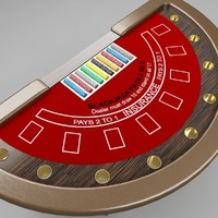 3d blackjack table 3