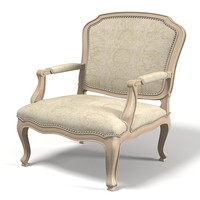 John Hutton 21004 LOUIS SOLEIL LOUNGE CHAIR