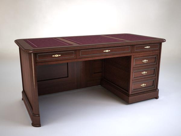 3d desk debut model