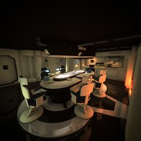 Spaceship Interior HD 1