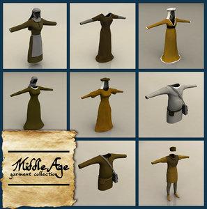 garments age 3d model