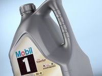 Bottle of Mobil One