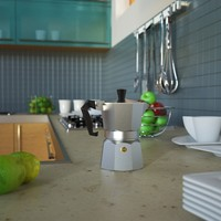 3d design moka bialetti