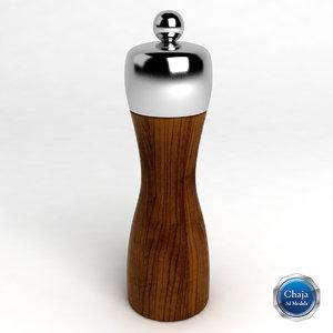pepper shaker 3ds