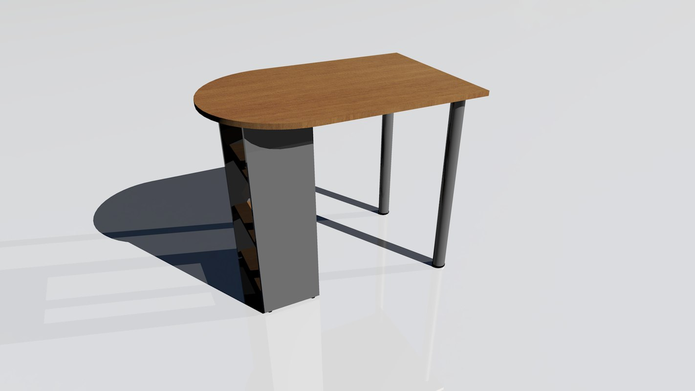 3d model table kitchen