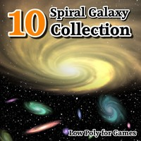 10 Spiral Galaxy Collection