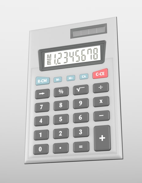 calculator obj