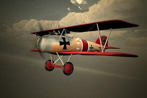 d iii fighter 3d model