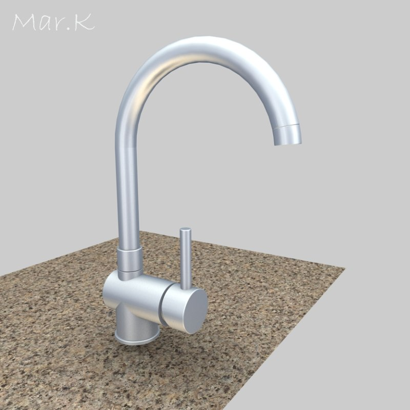 3d faucet franke model
