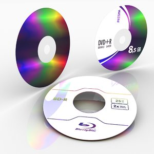 disc dvd cd 3ds free