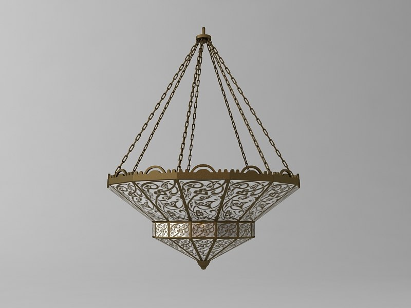 arabian chandelier 3d model