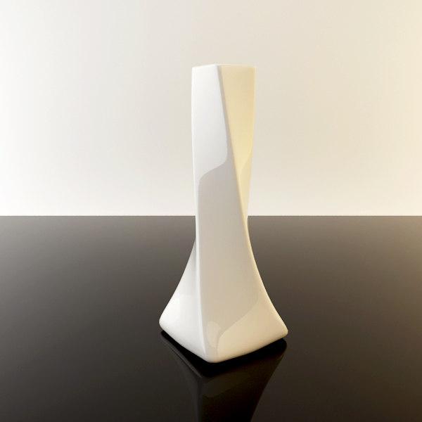vase interior 3d obj