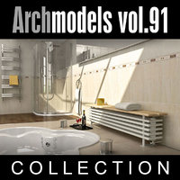 archmodels vol 91 radiators 3d model