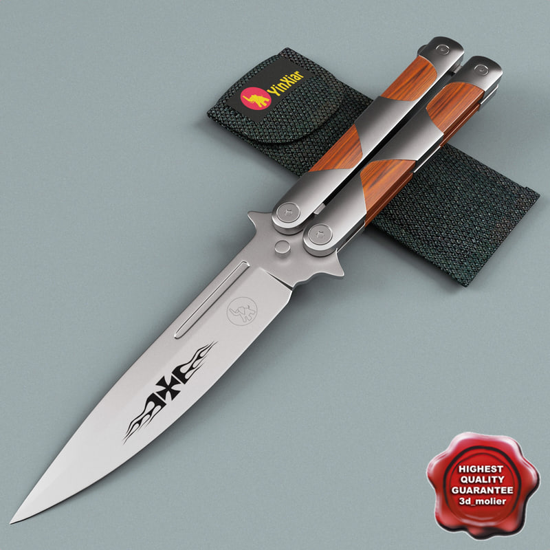 3ds butterfly knife coltin 420