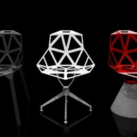 3d chair konstantin grcic model