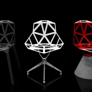 3d chair konstantin grcic model