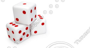 dice 3d 3ds