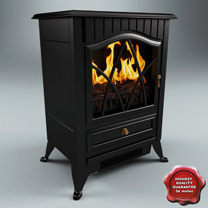 electric fireplace v2 3ds