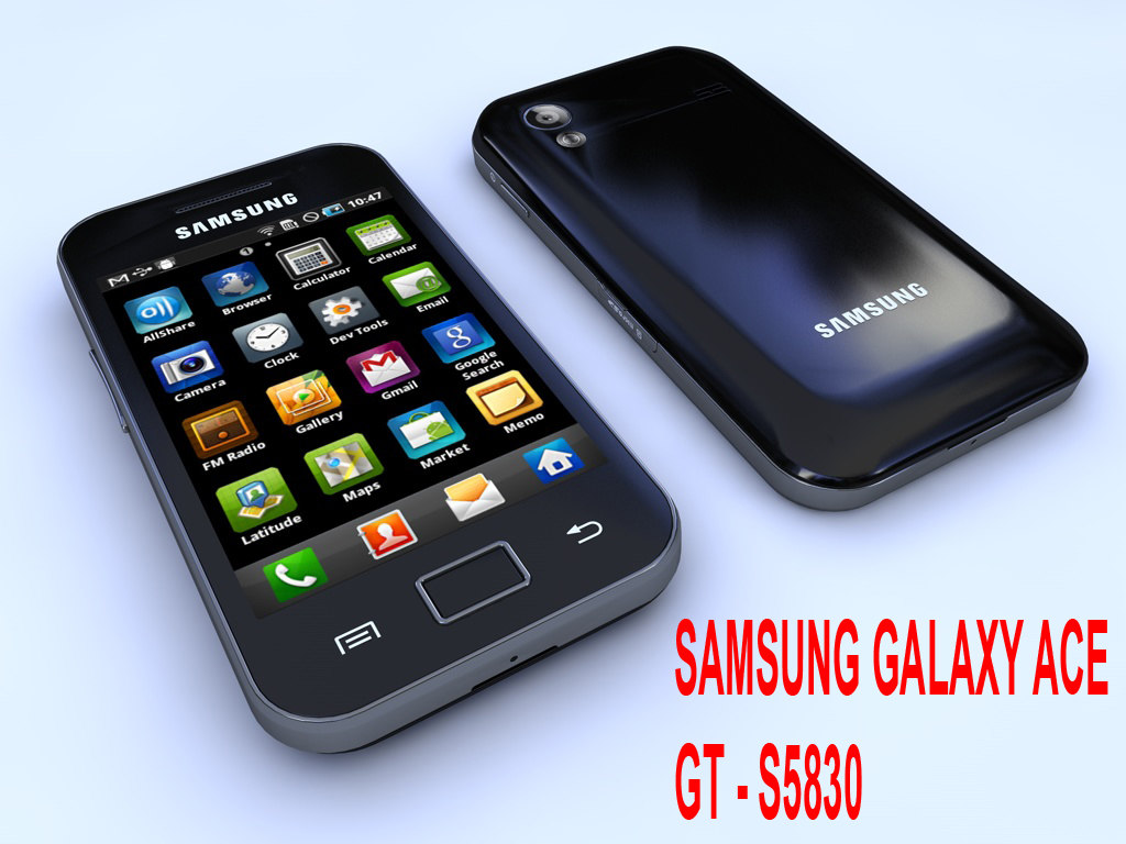 samsung gt-s5830 ace 3d model