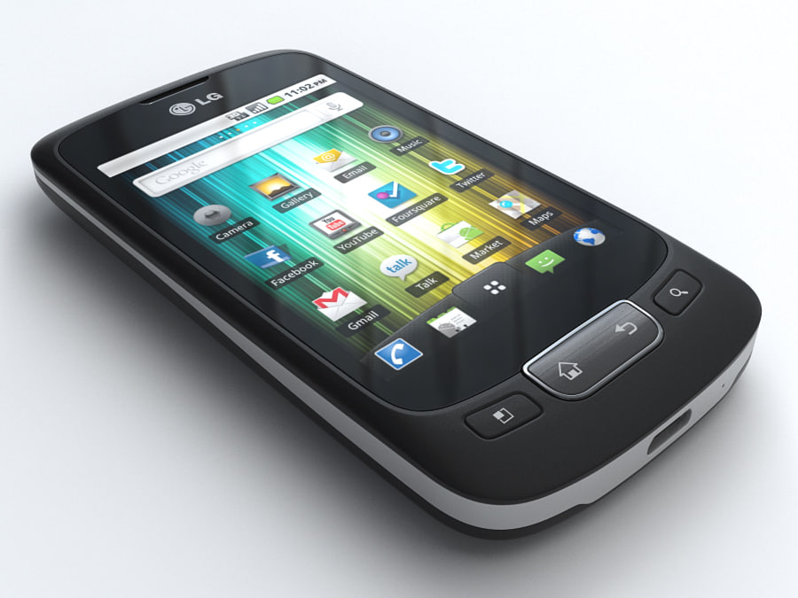 3d model lg optimus p500