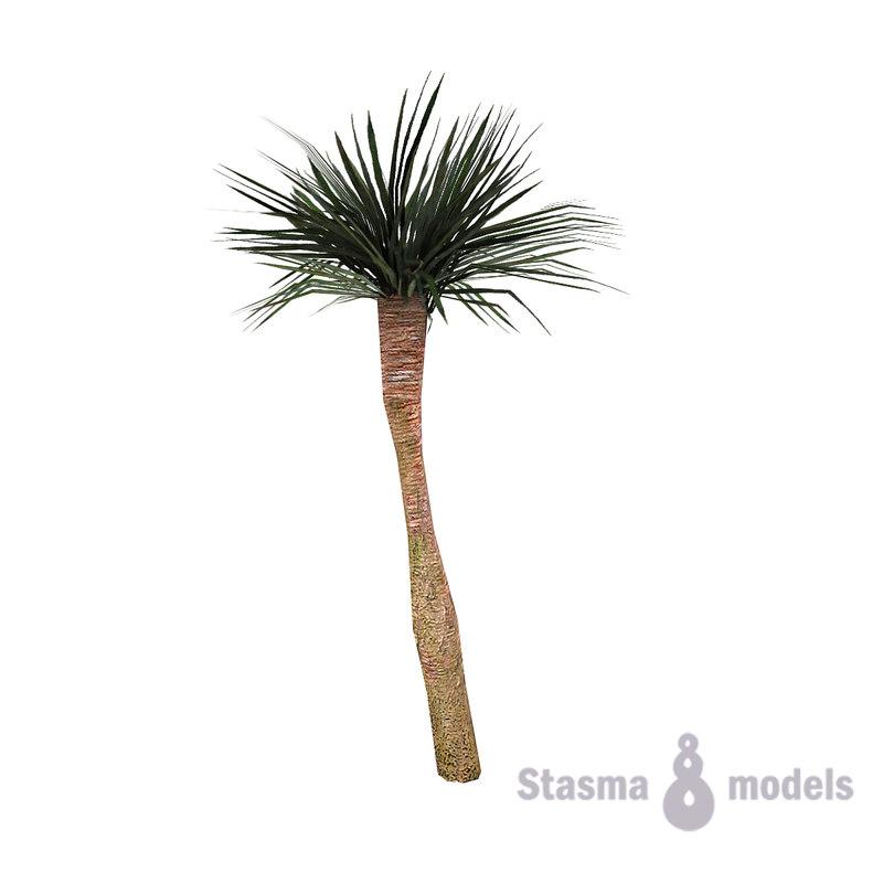 palm levels 3d model