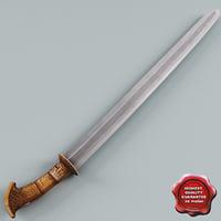 Rare Moro Sword
