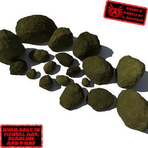 smooth rocks stones - max