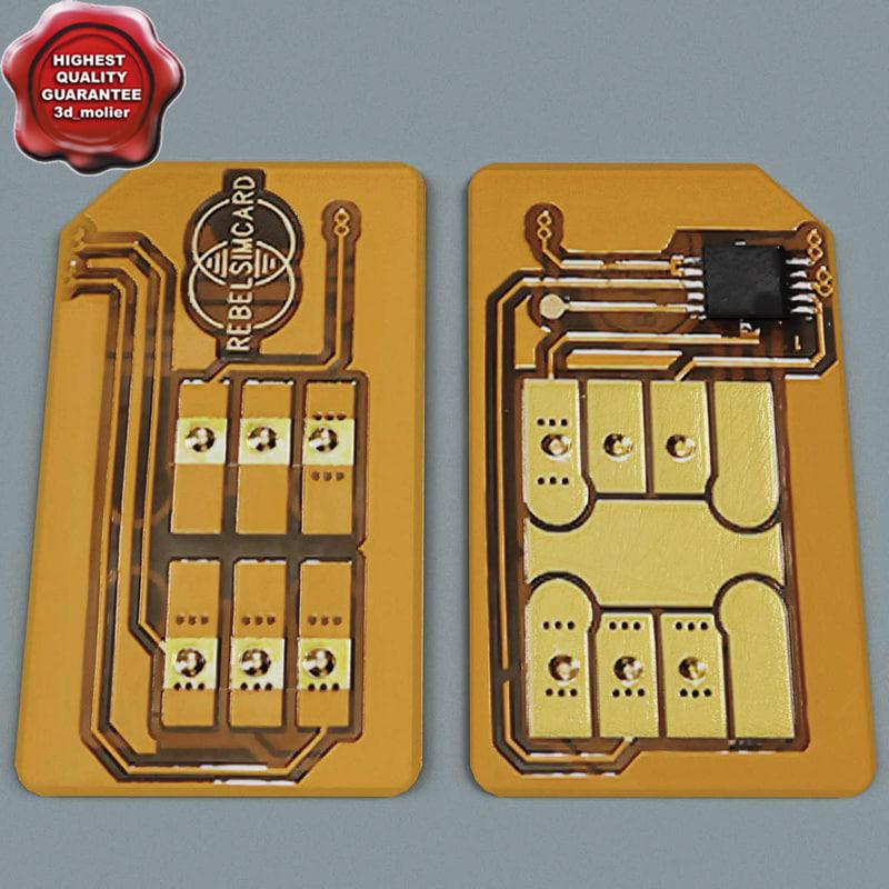 3dsmax sim card v1