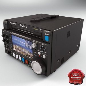 sony pdw-f1600 xdcam recording 3ds