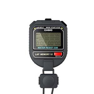 3d casio stopwatch model