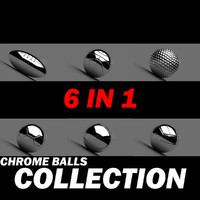 Chrome balls collection