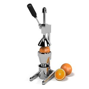 designer juicer orange 3d 3ds