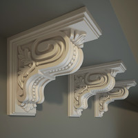 Ornate Corbel Bracket e10
