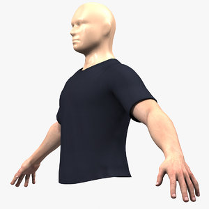 3d male hands