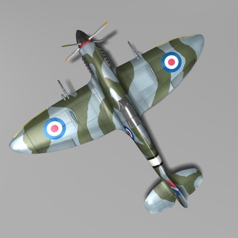 british fighter supermarine spitfire max