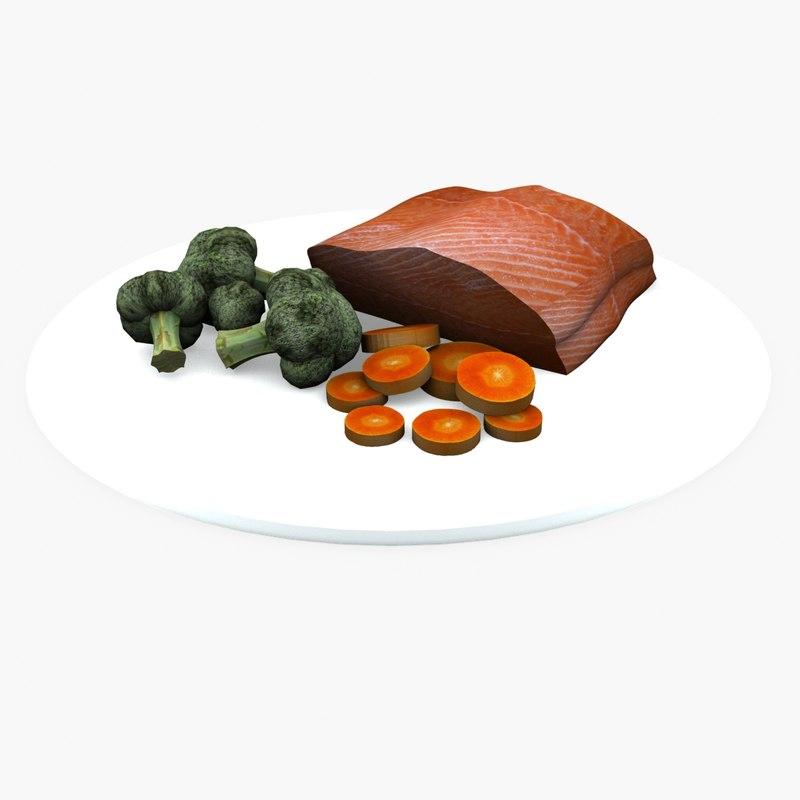 3d model steamer foods