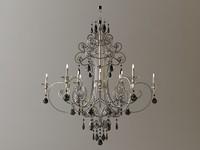 chandelier details 3d model