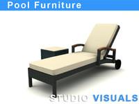 maya pool furniture
