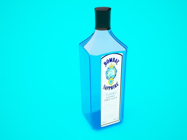 bombay sapphire bottle max