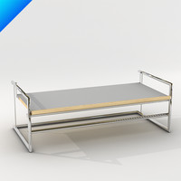 3d model menton table design classicon