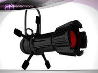 3d model of d3 c2 23 lamp:
