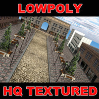 LowpolyStreet2
