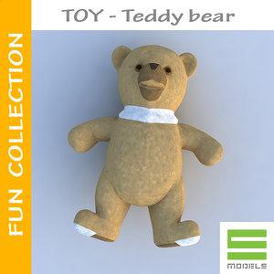 free max model small bear toy -
